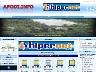 Thumbnail do site Apodi.info : O Site de Informação Apodiense