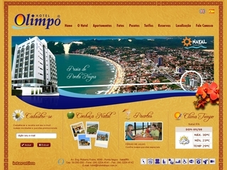 Thumbnail do site Hotel Olimpo