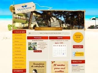 Thumbnail do site Hotel Vila do Mar