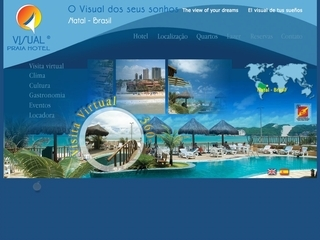 Thumbnail do site Visual Praia Hotel ****