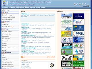 Thumbnail do site UERN - Universidade do Estado do Rio Grande do Norte