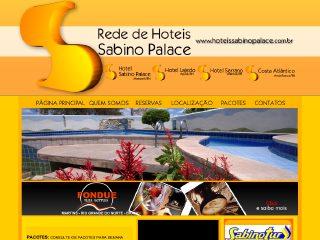 Thumbnail do site Rede de Hotéis Sabino Palace