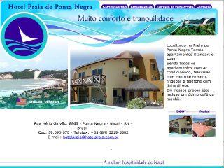 Thumbnail do site Hotel Praia de Ponta Negra