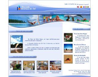 Thumbnail do site Hotel-Pousada América do Sol