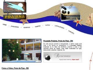 Thumbnail do site Pousada Praiana