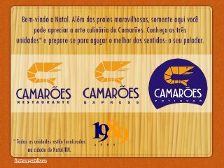 Thumbnail do site Camarões Restaurante