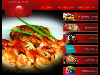 Thumbnail do site Guinza Restaurante