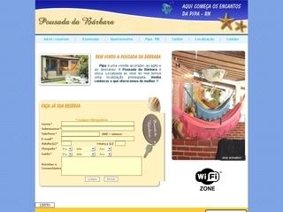 Thumbnail do site Pousada Da Bárbara