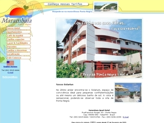 Thumbnail do site Marambaia Apart Hotel