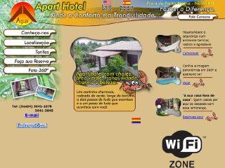 Thumbnail do site Aguaí Apart Hotel