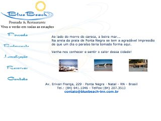 Thumbnail do site Blue Beach Pousada & Restaurante