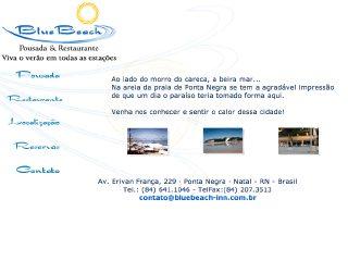 Thumbnail do site Blue Beach Pousada & Restaurante