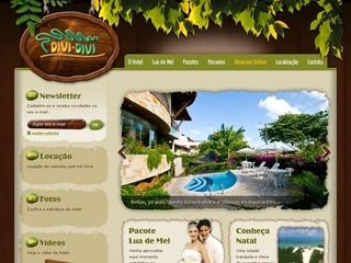 Thumbnail do site Divi-Divi Praia Hotel