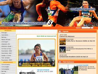 Thumbnail do site Federação Norte-rio-grandense de Atletismo