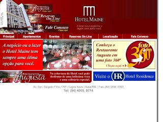 Thumbnail do site Hotel Maine ****