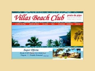 Thumbnail do site Villas Beach Club - Praia da Pipa *****