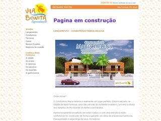 Thumbnail do site Pousada Vila Bonita