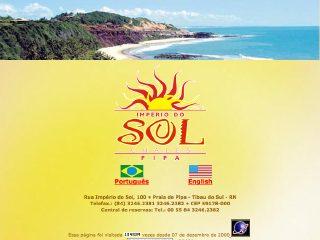 Thumbnail do site Hotel Império do Sol