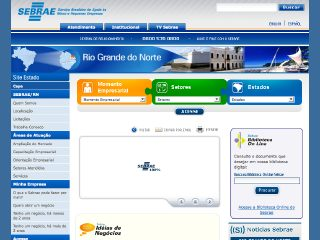 Thumbnail do site SEBRAE-RN