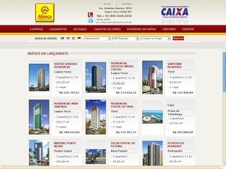 Thumbnail do site Aliança Imóveis