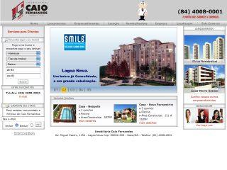 Thumbnail do site Caio Fernandes Negócios Imobiliários