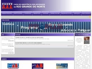 Thumbnail do site Caixa de Assistência dos Advogados do RN