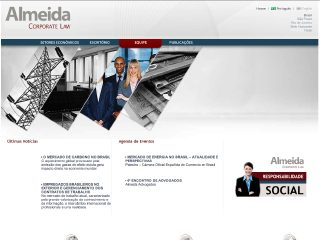Thumbnail do site Almeida Advogados