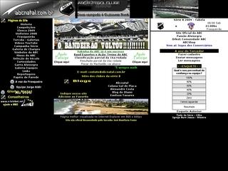 Thumbnail do site ABC Futebol Clube (site não oficial)