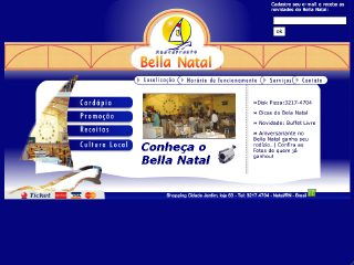 Thumbnail do site Restaurante Bella Natal