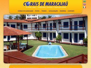 Thumbnail do site Corais de Maracajaú