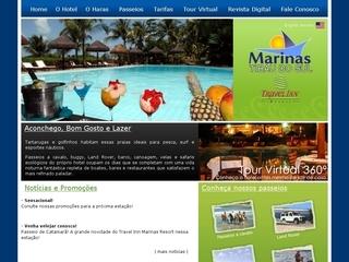 Thumbnail do site Hotel Marinas