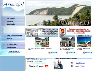 Thumbnail do site Mare Blu Flat