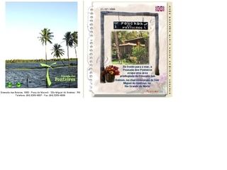 Thumbnail do site Pousada dos Ponteiros