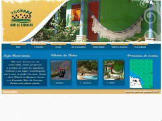 Thumbnail do site Pousada Mar de Estrelas