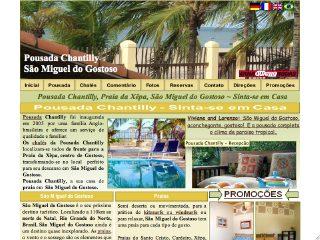 Thumbnail do site Pousada Chantilly