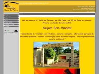 Thumbnail do site Pousada Casa de Taipa