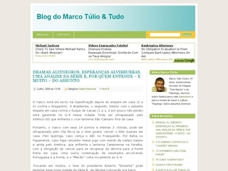 Thumbnail do site Marco Túlio & Tudo