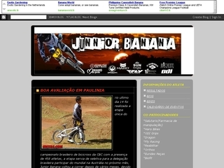 Thumbnail do site Atleta Junior Banana