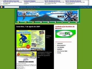 Thumbnail do site Federação Norte-Riograndense de Bicicross