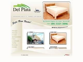 Thumbnail do site Del Plata Hotel