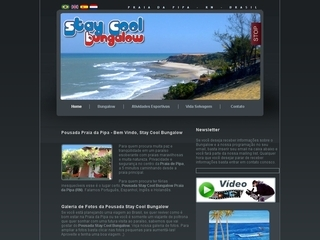 Thumbnail do site Stay Cool Bungalow