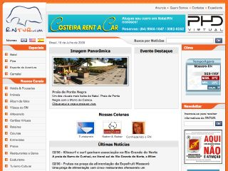 Thumbnail do site RNTUR.com - Portal de Turismo de Natal e do RN
