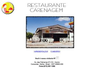 Thumbnail do site Restaurante Carenagem