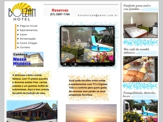 Thumbnail do site Hotel e Restaurante Bolzan