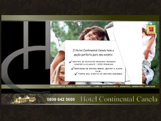 Thumbnail do site Hotel Continental Canela