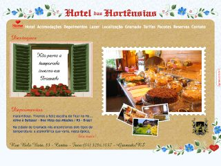 Thumbnail do site Hotel Das Hortênsias
