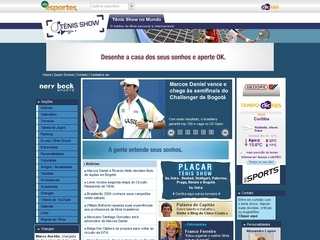 Thumbnail do site TenisGaucho.com.br