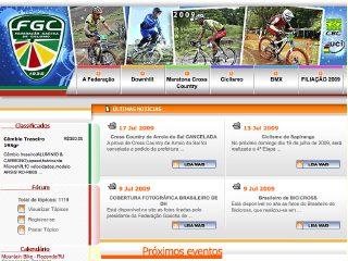Thumbnail do site FGC - Federação Gaúcha de Ciclismo