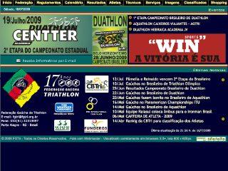 Thumbnail do site FG.Tri. - Federação Gaúcha de Triathlon
