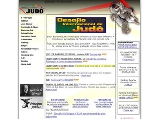Thumbnail do site FGJ - Federação Gaúcha de Judô